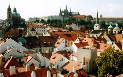 Wiew over central Prague