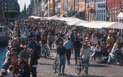 Photo: Lars Gemzoe - A new form of city-life, including recreation, has gradually developed in Copenhagen