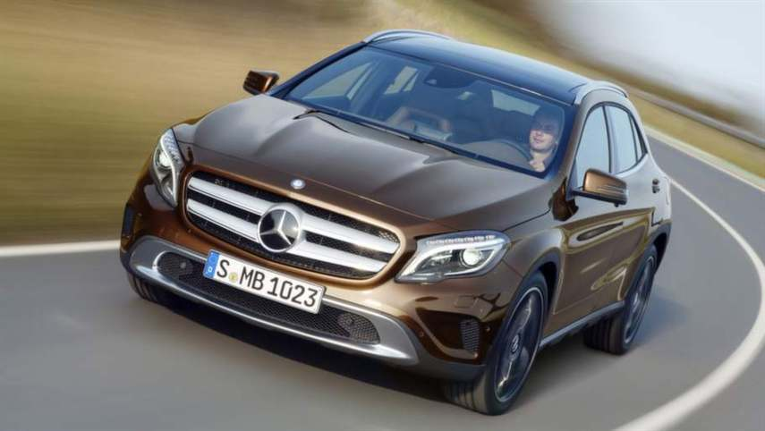 :  - Mercedes GLA. Fotograf:Daimler Ag - Global Communicatio