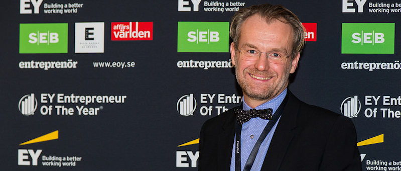 EY Entrepreneur Of The Year, Sweden - Marcus Moeschlin