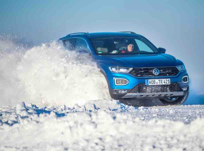 Volkswagen T-Roc on ICE